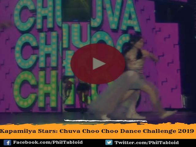"""Ang """"Chuva Choo Choo"""" ay hango mula sa kanta nina Nikki Valdez at Jolina Magdangal"""