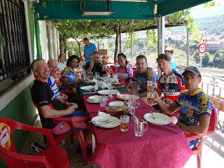 Cycling in Spain, try a Paella, the national dish, delicious and great carbo loading!