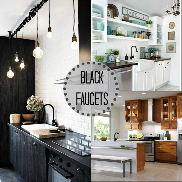 I Need Your Thoughts Black or Silver Kitchen Faucet