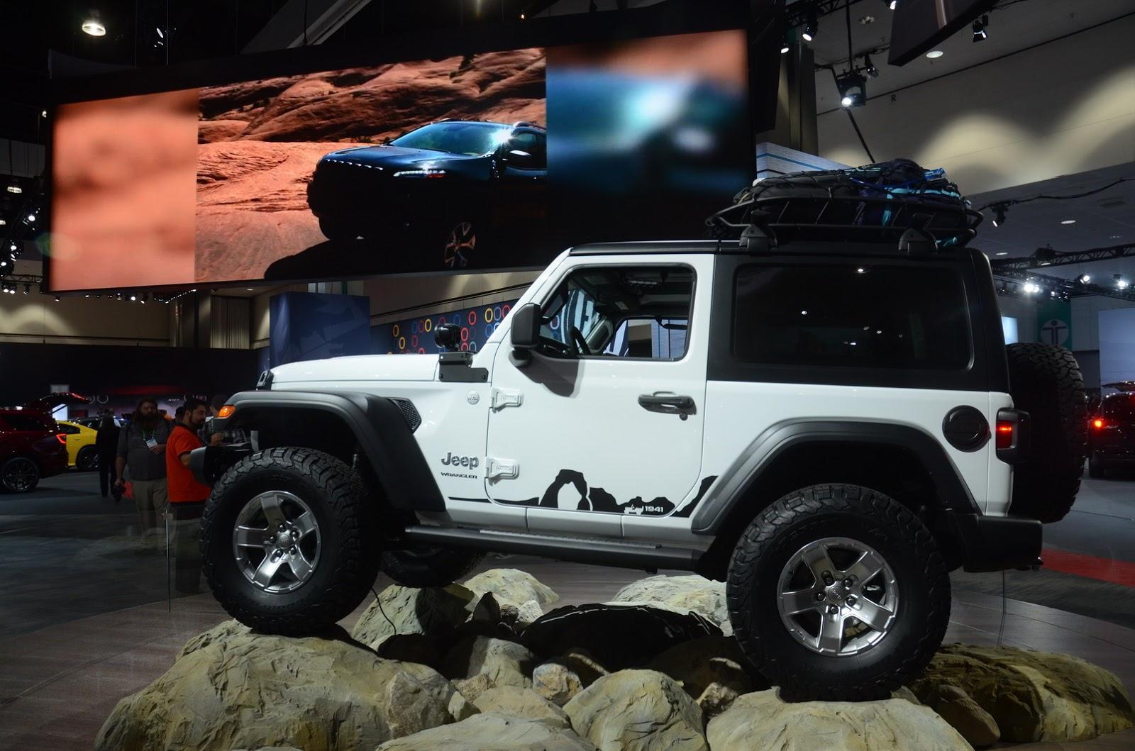 jeep boss confirms new wrangler plug in hybrid in la. Black Bedroom Furniture Sets. Home Design Ideas
