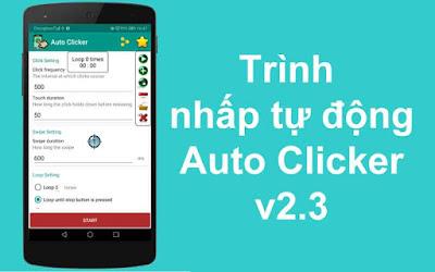 Trình nhấp tự động - Auto Clicker v2.3