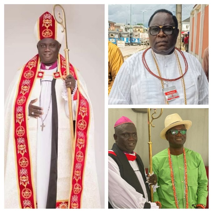 Ereyitomi, Warri Federal constituency congratulates Agbolaya on his consecration as Bishop of African Church