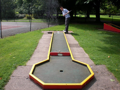 Mini Golf at Florence Park in Cowley