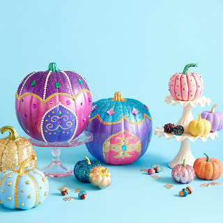 Nickelodeon Painted pumpkins