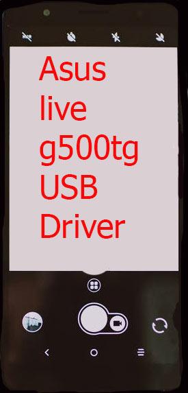 Asus live g500tg USB Driver