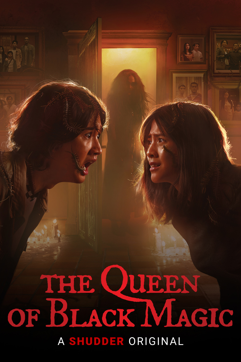the queen of black magic poster