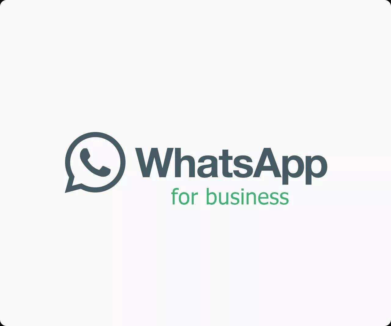 whatsapp business app logo