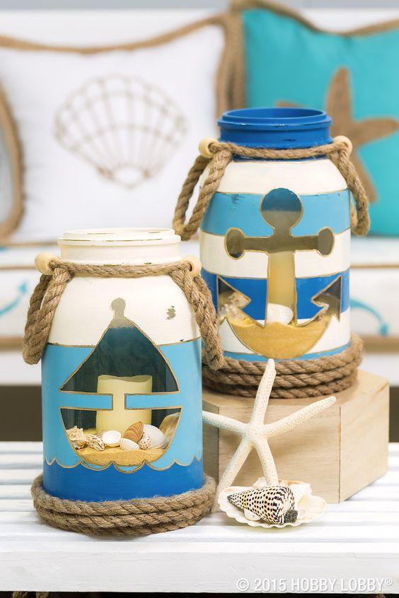 Como decorar frascos de vidrio con pintura for Envases de vidrio decorados