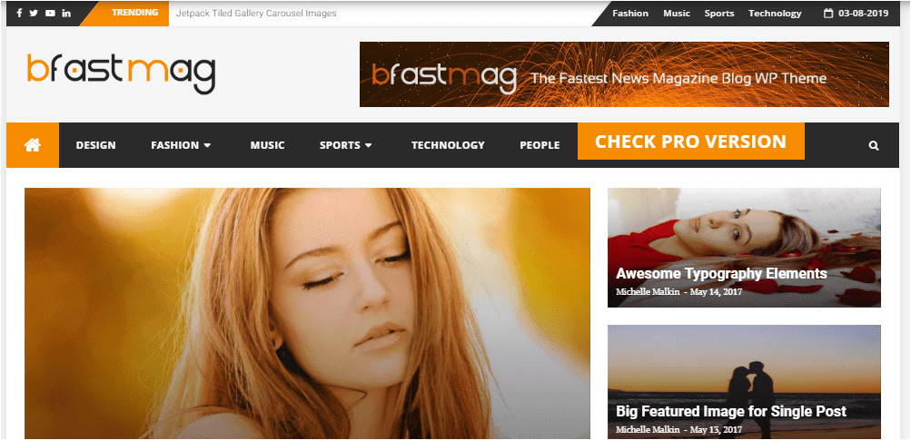 bfastmag Wordpress themes free download