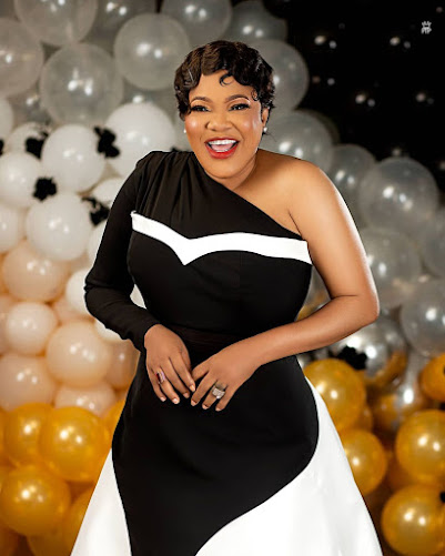 """Stop Wallowing In Self-Pity, Stop Hating On You"" - Actress Toyin Abraham Turns Motivational Speaker."