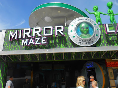 Mirror Maze in Ocean City New Jersey
