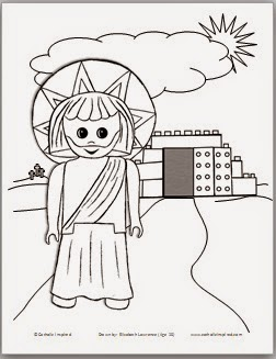 I Hope You Like Her Cute Coloring Page