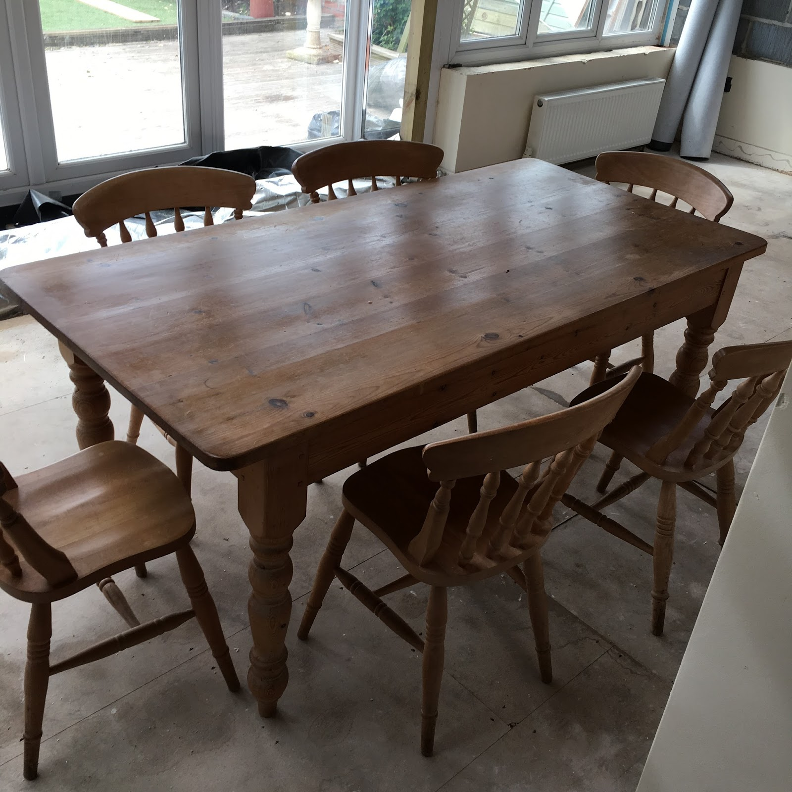 My First Port Of Call Was Sourcing A 6ft Table U0026 Chairs Set From Gumtree. I  Sometimes Use Facebook Buy/sell Groups Or Even Ebay But Often Find That  These ...