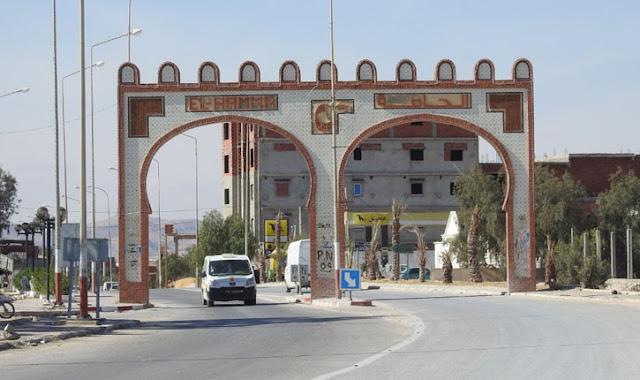 مدينة الحامة من ولاية قابس