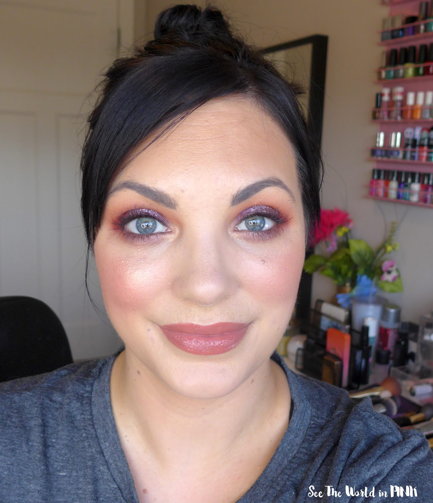 September Shop My Stash - Full Face of Drugstore Fall Glam Makeup