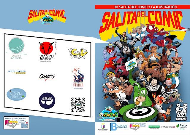 XII Salita del Cómic y la Ilustración de Badajoz (2-3 de octubre de 2021)