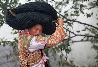 Model Rambut Suku Miao