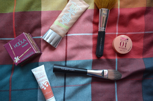 Benefit, Bourjois, Rimmel and The Body Shop face make up and brushes