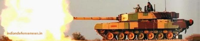 Advanced Version of Arjun Tank Hits Target At Pokhran Firing Range