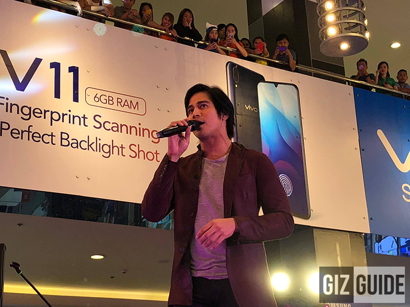 Piolo Pascual at the Cherry Mobile Flare S7 Series Grand Launch