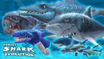 تحميل لعبة هنجري شارك hungry shark مهكرة من ميديا فاير