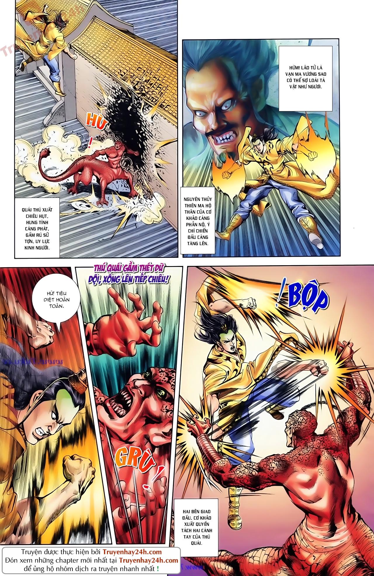 Cơ Phát Khai Chu Bản chapter 81 trang 14