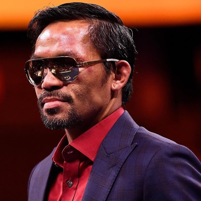 FORMER BOXER MANNY PACQUIAO IS RUNNING FOR PRESIDENT OF THE PHILIPPINES IN 2022 ELECTION