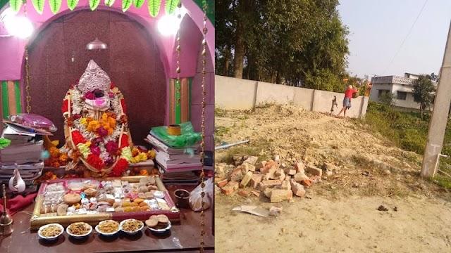 गम्हरिया में सरस्वती पूजा को लेकर तैयारी जोरों पर