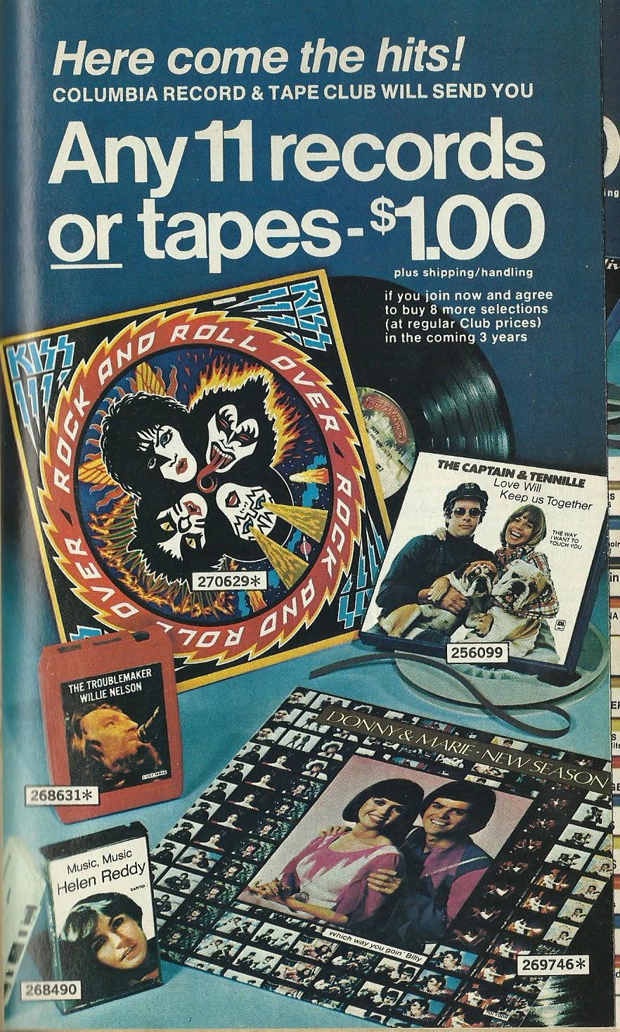 Columbia House Record U0026 Tape Club Ad