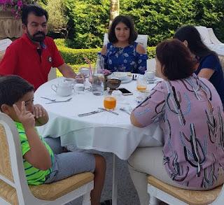 Лидия Игдеджи - фотографии с семьей