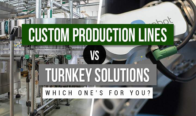 Choosing Between Custom Production Lines and Turnkey Solutions