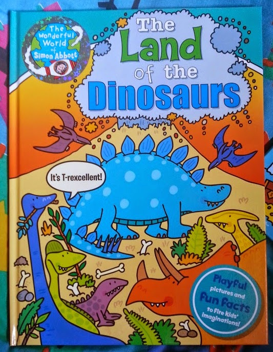 The Land Of The Dinosaurs book review age 5-7 Early reader