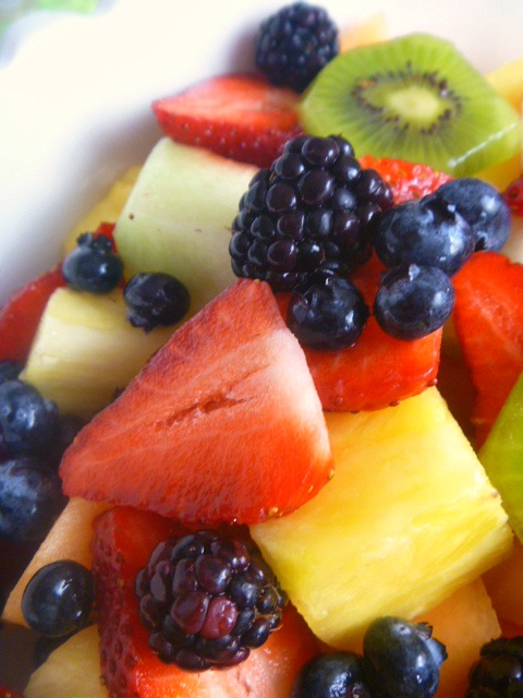 Have fun with your fruit!  Make Beth's Simple Fruit Salad for all your happenings! - Slice of Southern