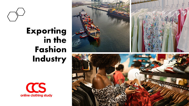 What does exporting mean in fashion industry