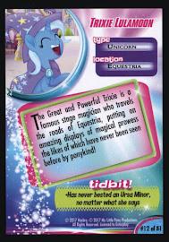My Little Pony Trixie Lulamoon MLP the Movie Trading Card