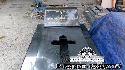 Kuburan Kristen Modern, Harga Makam Kristiani, Contoh Makam Keramik Kristen