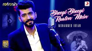 भीगी भीगी Bheegi Bheegi Raaton Mein Lyrics In Hindi