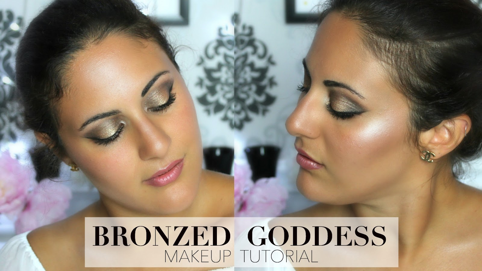 Serena wanders bronzed dewy highlighted goddess makeup tutorial bronzed dewy highlighted goddess makeup tutorial baditri Choice Image