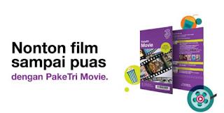 Cara Mengubah Kuota Movie Tri 3 Jadi kuota internet