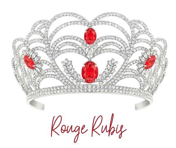 Rouge Rubis, la couronne Miss France 2020 by Julien d'Orcel