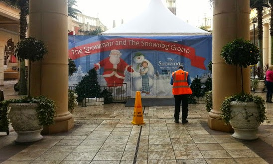 The intu Trafford Centre The Snowman and The Snowdog Christmas Grotto