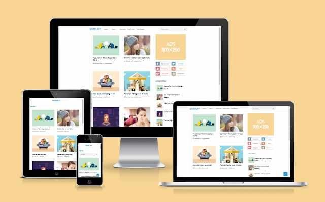 simplify 2 blogger template premium free dwonload