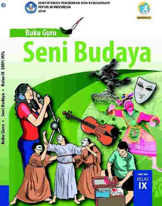 Buku Seni Budaya kelas 9 - Buku Siswa