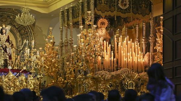 La hermandad de la Paloma de Málaga aplaza la celebración del 50 aniversario de la virgen por la pandemia de coronavirus