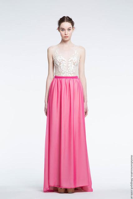 Moda mujer vestidos de fiesta Natalia Antolin. Moda vestidos de fiesta 2017.