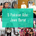 Inilah 5 Pakaian Adat Dari Provinsi Jawa Barat