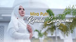 Lirik Lagu Rindu Surgamu - Mira Putri