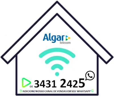 Banda Larga Via fibra óptica em Itumbiara, Algar telecom.