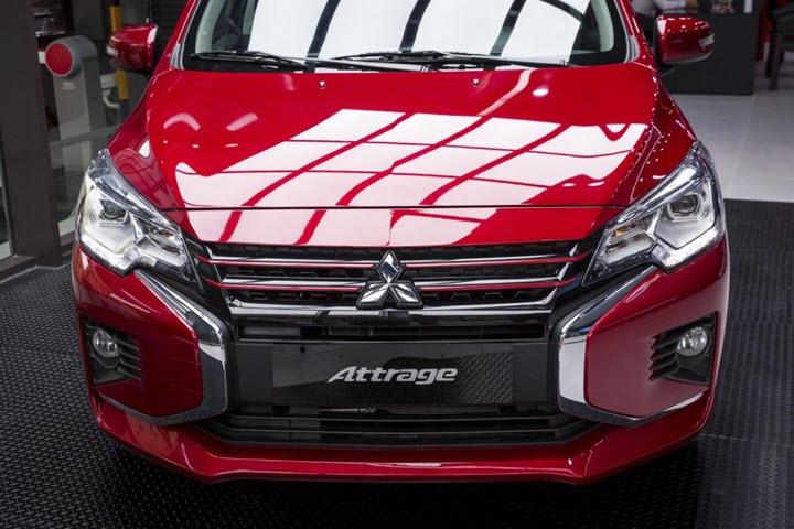 Mitsubishi Attrage vừa ra mắt đã lọt top 5 xe bán chạy nhất phân khúc hạng B tháng 3