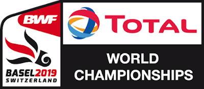 BWF Badminton World Championships 2019 Basel Logo